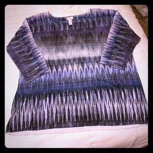 3/4 sleeve shirt CHICOS
